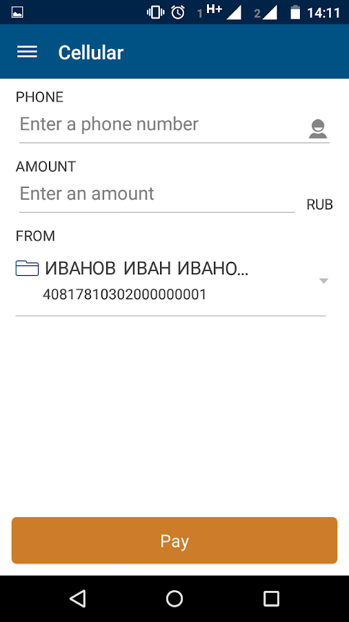 New Nordea online (Russia) - Android Apps on Google Play