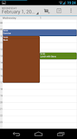 Screenshot of Calendar Droid
