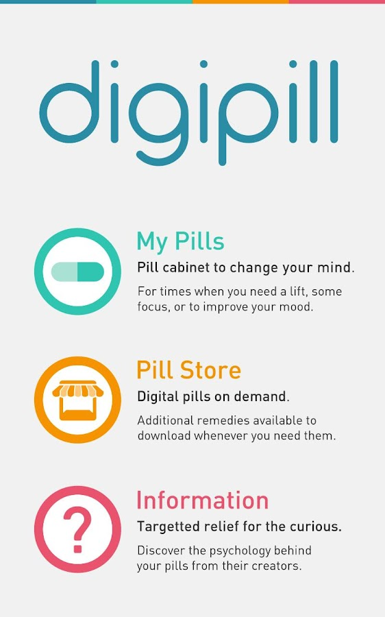 Digipill- screenshot