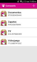 Screenshot of Correos de México