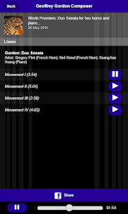 Geoffrey Gordon Composer - screenshot thumbnail