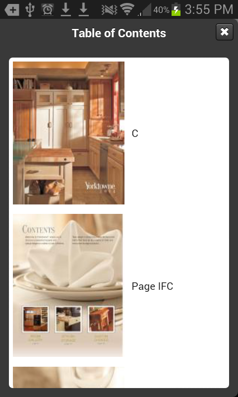 Yorktowne Cabinetry - screenshot