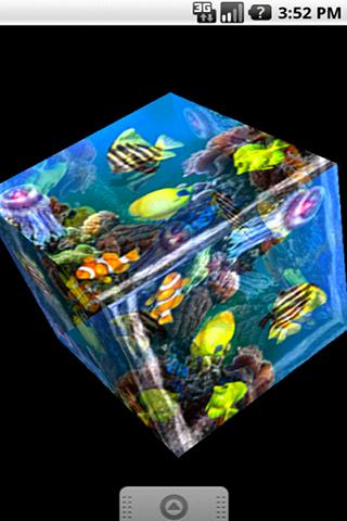 3D colorful sea