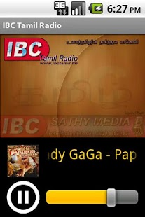 IBC Tamil Radio - screenshot thumbnail