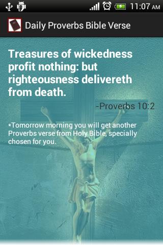 Proverbs Daily Bible Verse