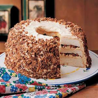 Layered Toffee Cake.