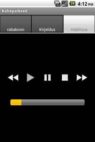 Eesti kahepaiksed- screenshot