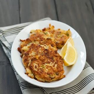 Zucchini Ricotta Fritters