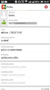 mBank SK 2.0 - screenshot thumbnail