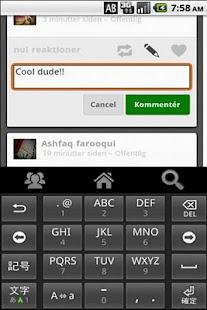 Diaspora Webclient Alpha- screenshot thumbnail