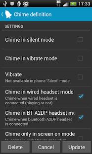Hourly chime PRO - screenshot thumbnail