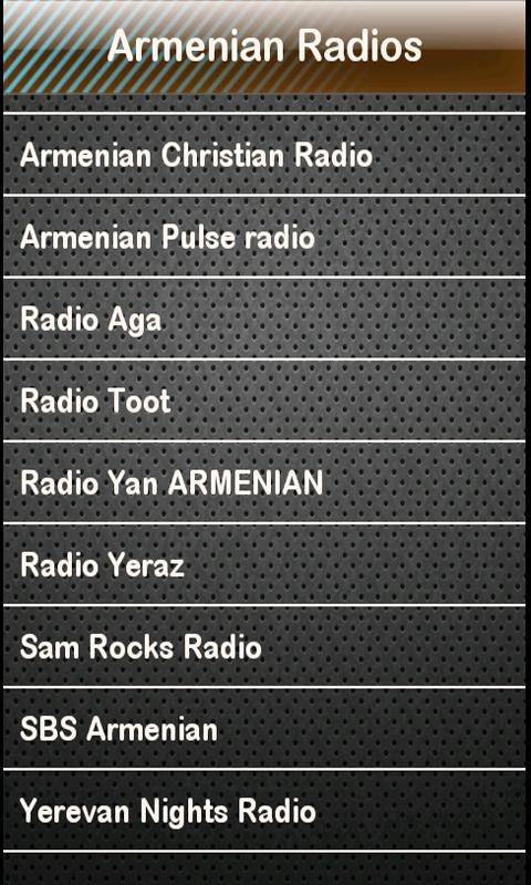 Armenian Radio Armenian Radios- screenshot