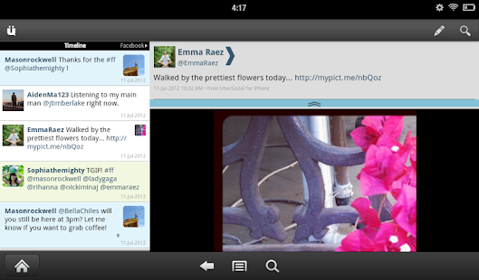 UberSocial for Twitter- screenshot thumbnail