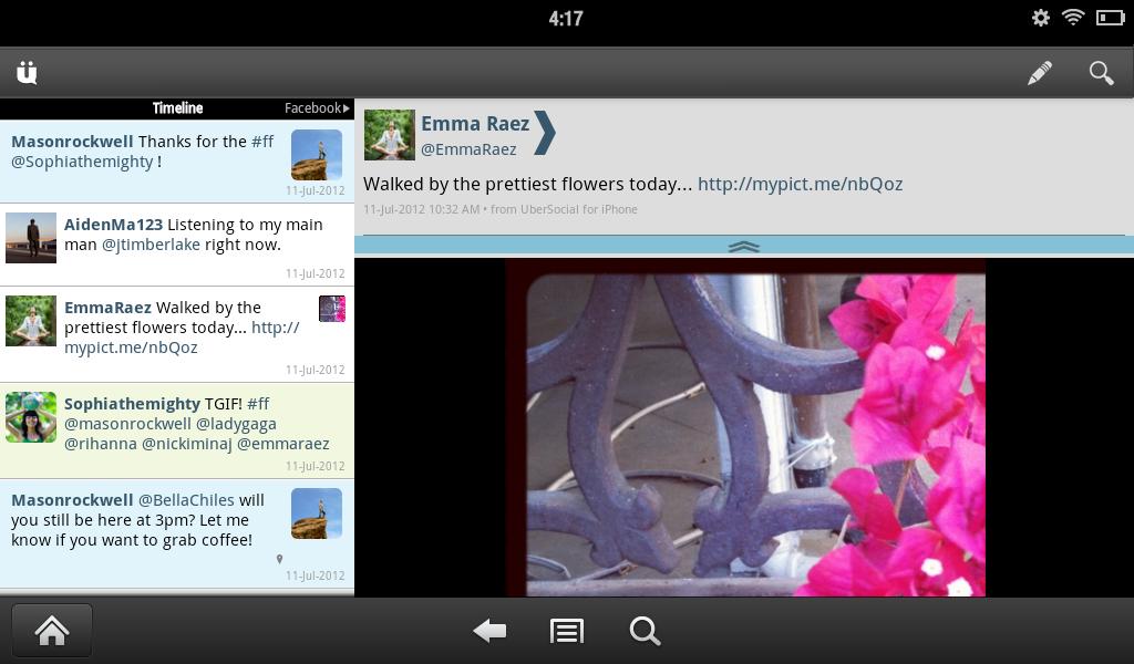 UberSocial for Twitter screenshot #8