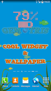 Gemtris: game,widget,wallpaper- screenshot thumbnail