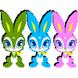 Dozen rabbits