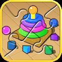 幼儿拼图 - 免费应用 icon