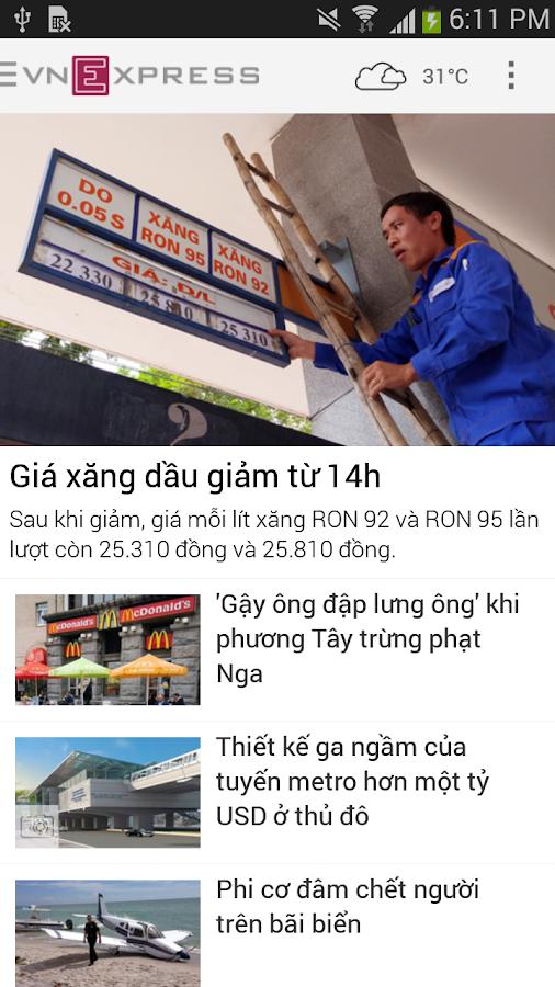 VnExpress.net - screenshot