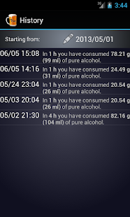 Alcohol Calculator PartyFriend - screenshot thumbnail
