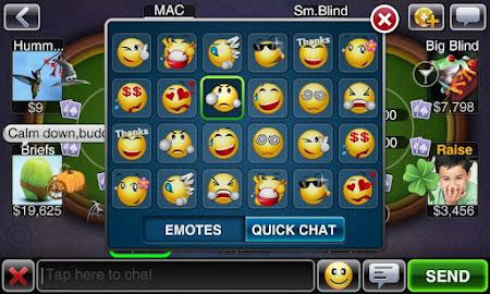 Texas HoldEm Poker Deluxe Pro 1.6.4 screenshot 7541