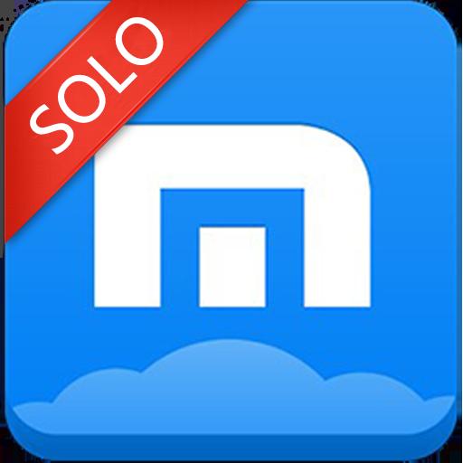 Maxthon-themed Launcher LOGO-APP點子