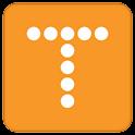 Text 100 logo
