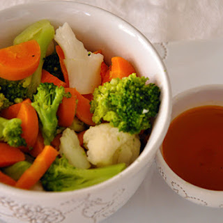 MIXED VEGETABLES WITH HOT AND SOUR DRESSING