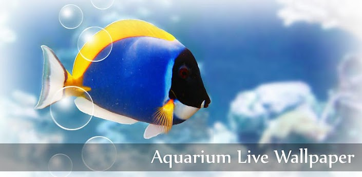 Aquarium Live Wallpaper android theme app version 2.66 apk Tk software for free download