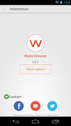 玩免費工具APP|下載WADA Browser:轻便浏览器 app不用錢|硬是要APP