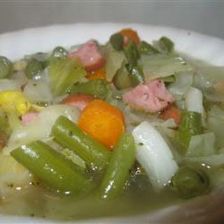 Pork and Cabbage Soup