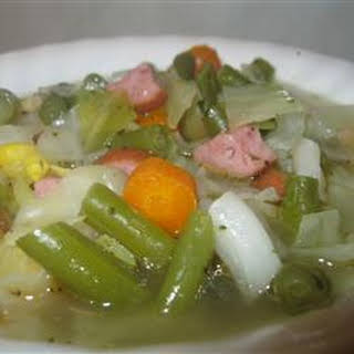 Pork and Cabbage Soup.