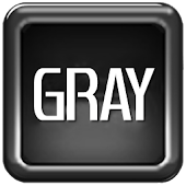GRAY go launcher theme