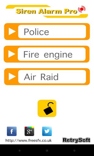 Siren Alarm Pro