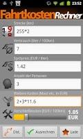 Screenshot of Fare Calculator