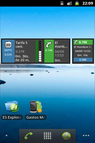 Gastos Móvil Plus- screenshot