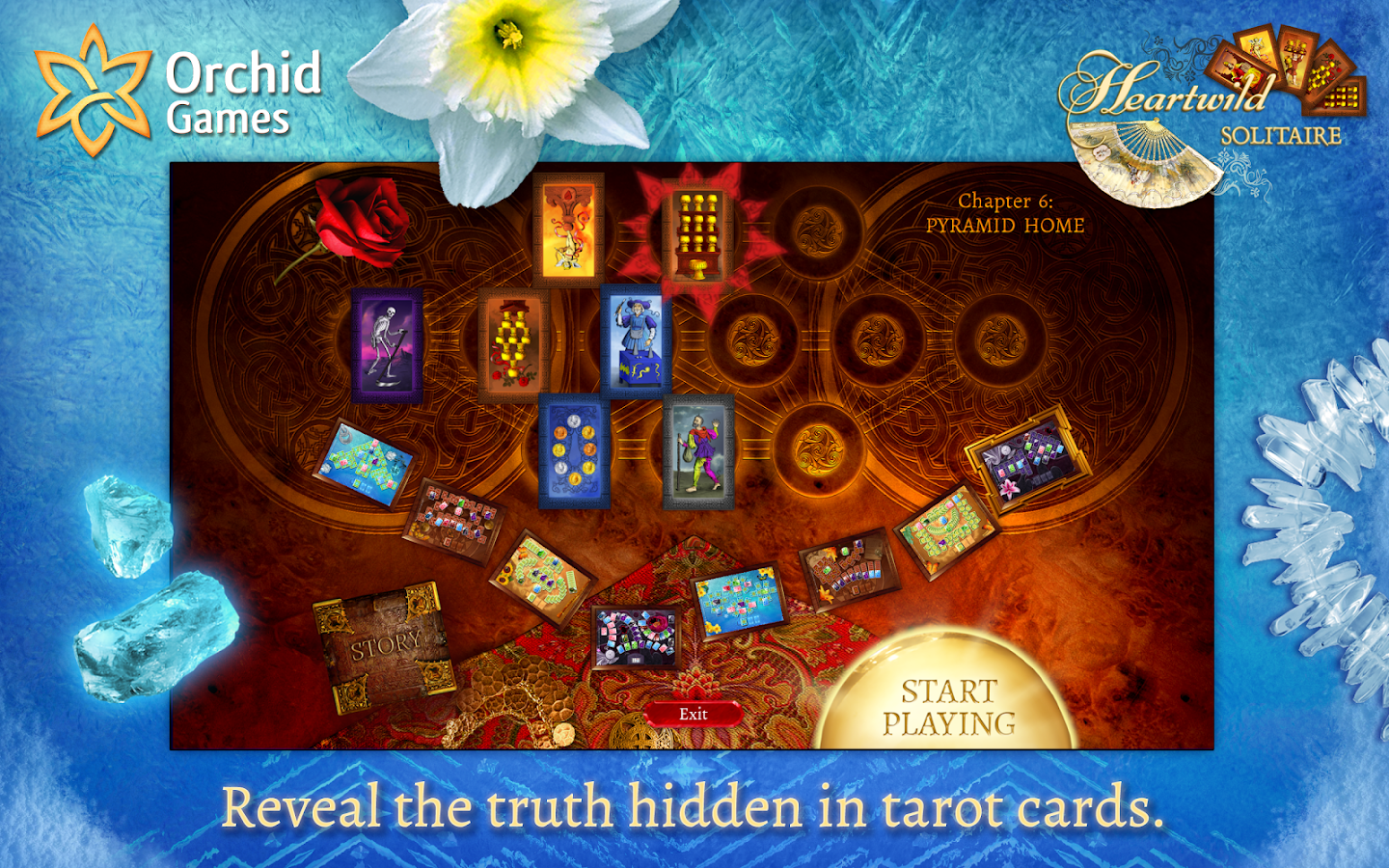 Heartwild Solitaire- screenshot