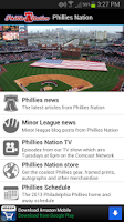 Screenshot of Phillies Nation