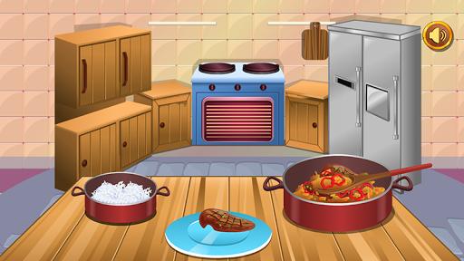 鶏料理 - 女の子のゲーム