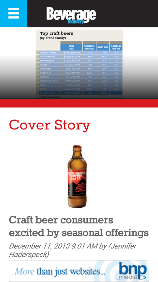 Beverage Industry- screenshot