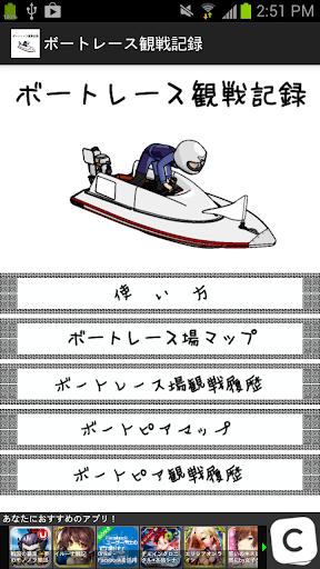 ボートレース観戦記録&収支メモ - 競艇 -