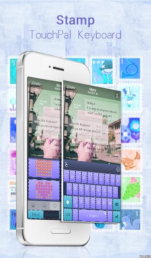 Stamp TouchPal Keyboard Theme