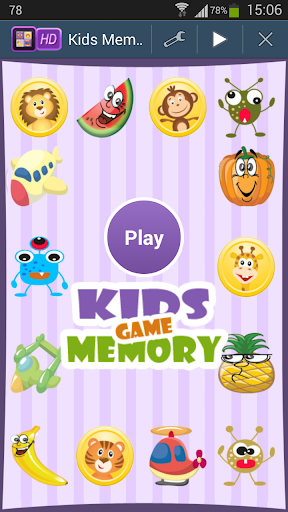 MEMORY MATCH KIDS MEMORY GAME