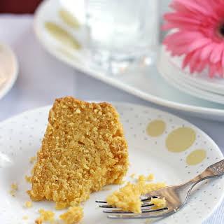 Eggless Custard Powder Snack Cake.