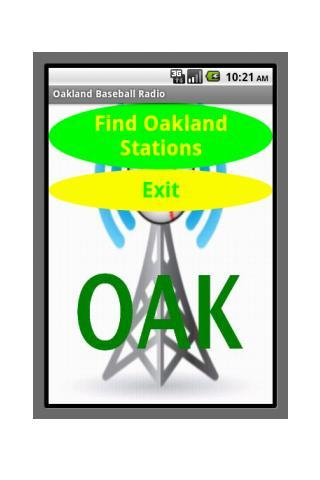 Oakland Baseball Radio