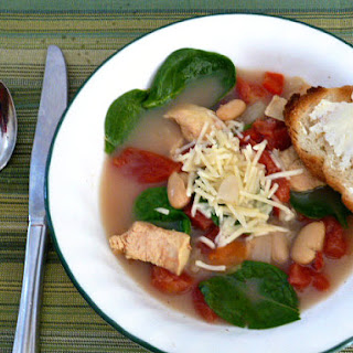 Tuscan Chicken Soup for #souplove.