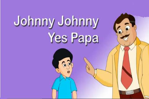 Johny Johny Yes Papa Kid Rhyme