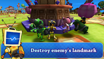 Screenshot of Giant Robot Battle