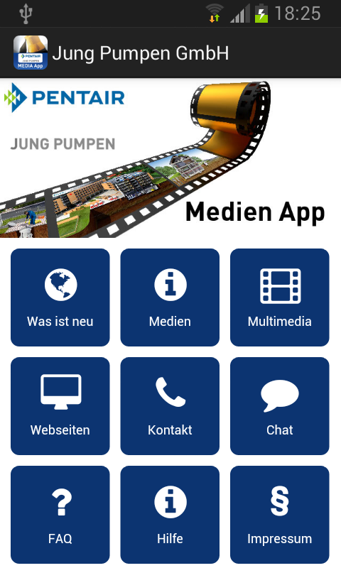 jung pumpen media android apps on google play. Black Bedroom Furniture Sets. Home Design Ideas