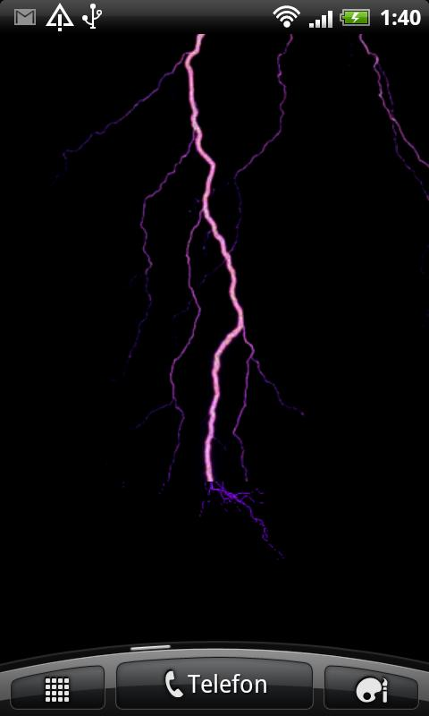 Lightning Live Wallpaper - screenshot