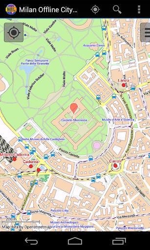 Milan Offline City Map - Apps on Google Play